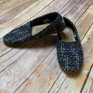 [Toms] Multicolored Knit Slip On Shoes